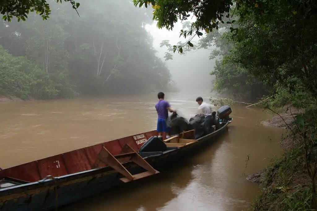 Lugares turisticos de Ecuador Amazonas
