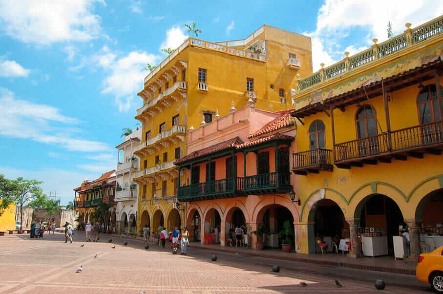 Sitios Turisticos de Cartagena de Indias Plaza de los Coches