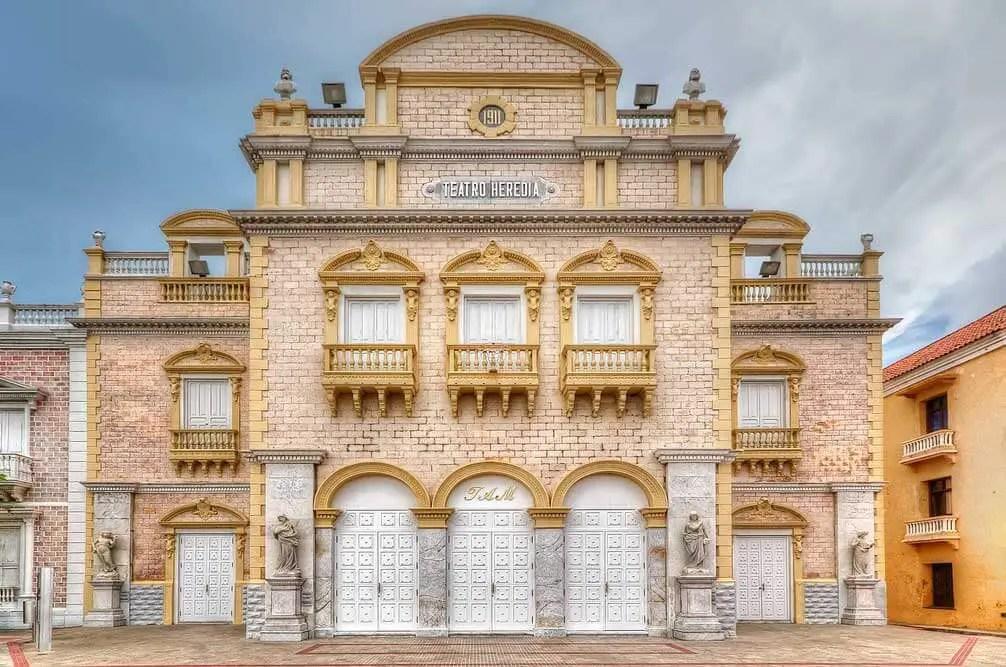 Sitios Turisticos de Cartagena de Indias Teatro Heredia