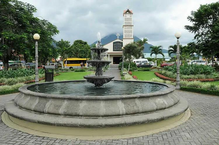 Lugares turisticos de Costa Rica La Fortuna