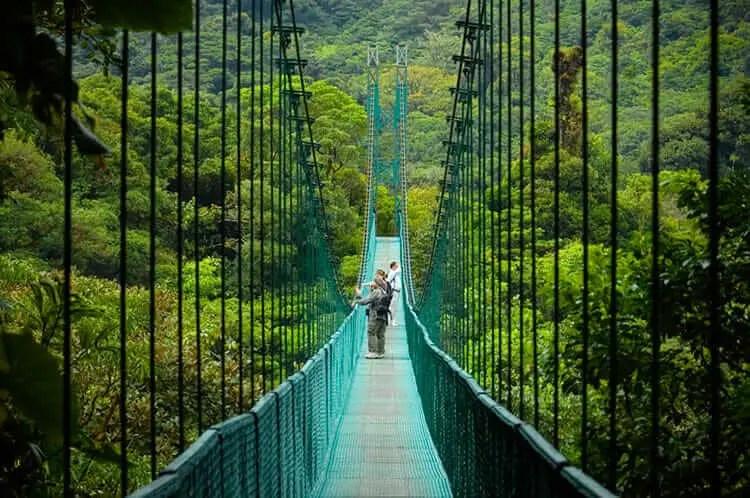 Lugares turisticos de Costa Rica Monteverde