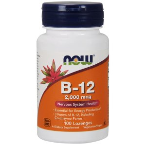 Now Foods - Vitamin B 12 2000MCG 100Softgels