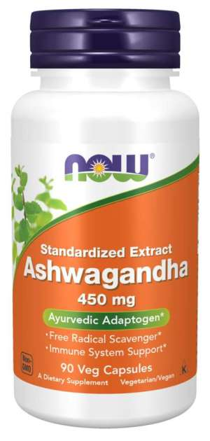 Now Foods - Ashwagandha 450mg 90VegCaps
