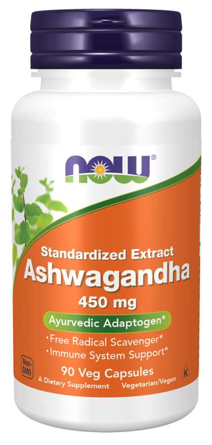 Now Foods - Ashwagandha 450mg 90VegCaps