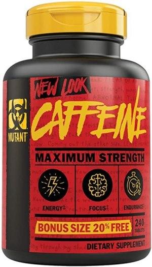 Mutant - Cafeína 240 Tabletas.