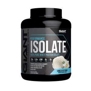 Giant Sports - Performance Isolate 100% Whey Protein Isolate 5lb