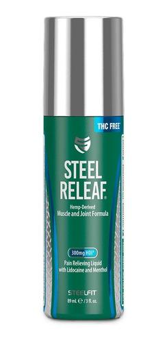 Pro Tan - Steel Releaf 3oz.(combate el dolor temporal muscular y articular)