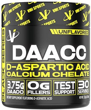 VMI Sports - DAACC D-Aspartic Acid Calcium Chelate 30 Servicios.