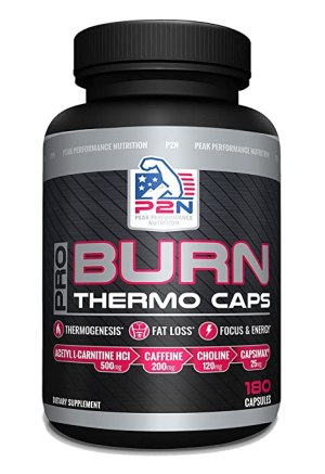 Peak Performance Nutrition - Pro Burn Thermo Caps. 180 Cápsulas