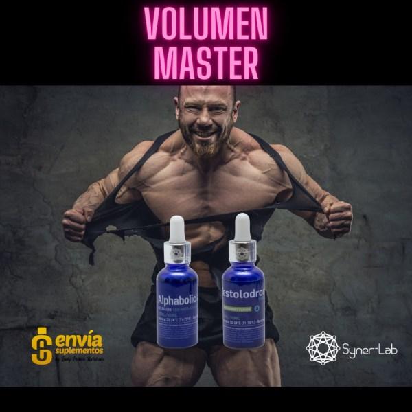 Syner lab - Ciclo Volumen Master ALPHABOLIC + TESTOLODRONE
