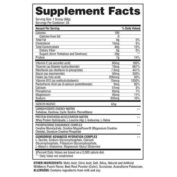 Gaspari Nutrition - Size On 3.48Lbs