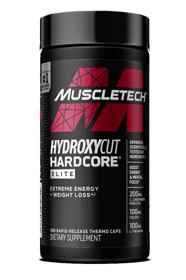 MuscleTech - Hydroxycut Hardcore Elite 100 Cápsulas.