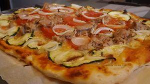 Masa de pizza casera fácil y rápida