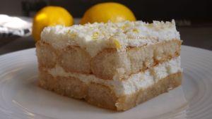 Tiramisu de Limón, delicioso