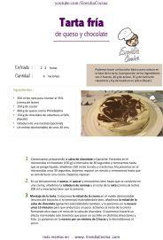 Tarta de queso y chocolate ENVI Hoja1