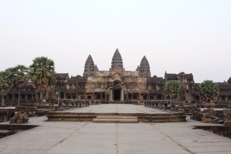 Angkor Wat sans personne!