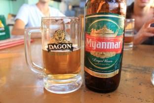 La bière du Myanmar!