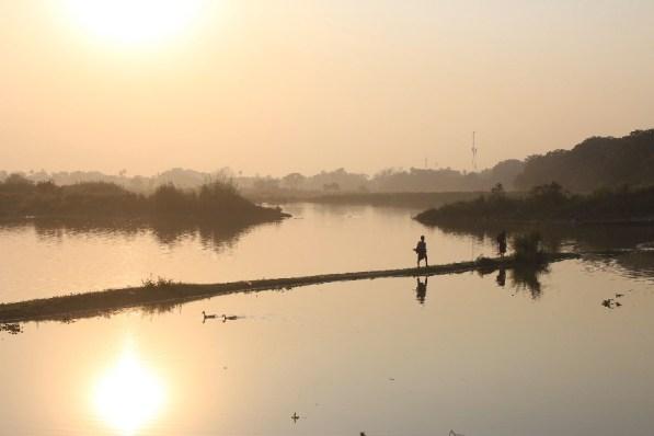 En direction du Pont U Bein, probablement un de nos plus beaux clichés!