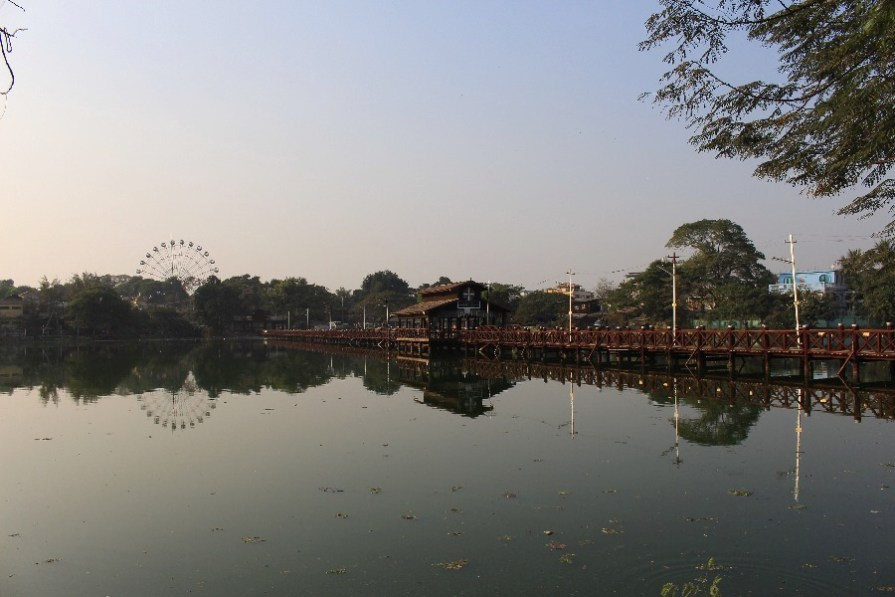 La miniature du pont U Bein.