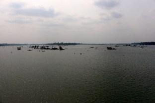 Le panorama au bout de l'île!