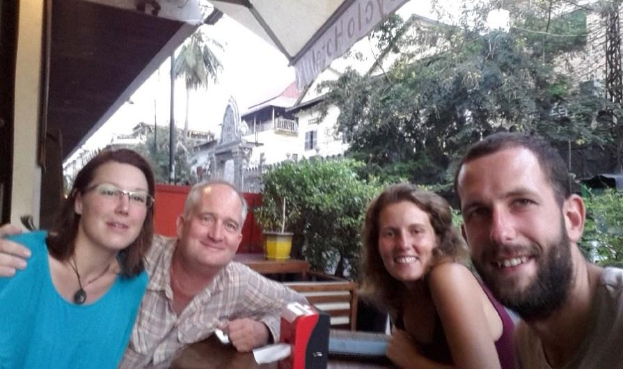 Retrouvailles avec Myriam et Gordon!!!