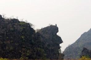 Les montagnes ont des formes étranges parfois!