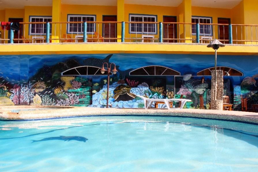Le paradis (surtout pour Camille) au Marina Lodge!