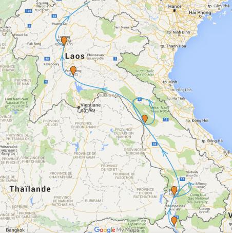 carte-laos-itineraire