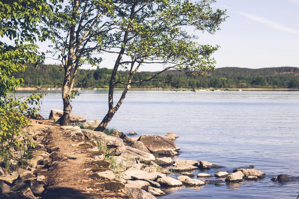 Strandkullepromenaden i Björboholm. Foto Johanna Ene 2020.