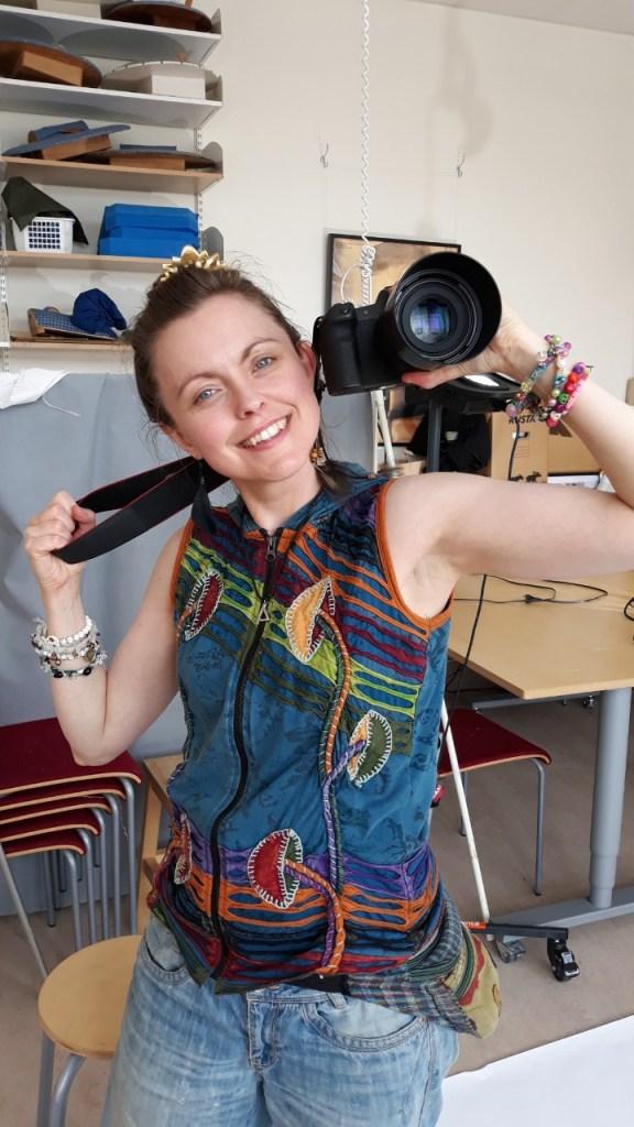 Fotograf Johanna Ene, portfoliofotografering för textilakademin, Värnamo Folkhögskola 2021.