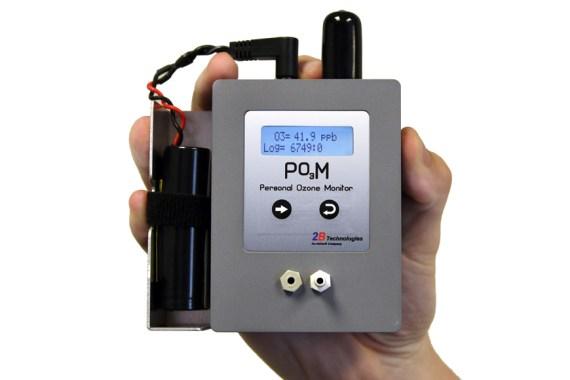 Tragbares Ozonmessgerät POM vom Hersteller 2B Technologies