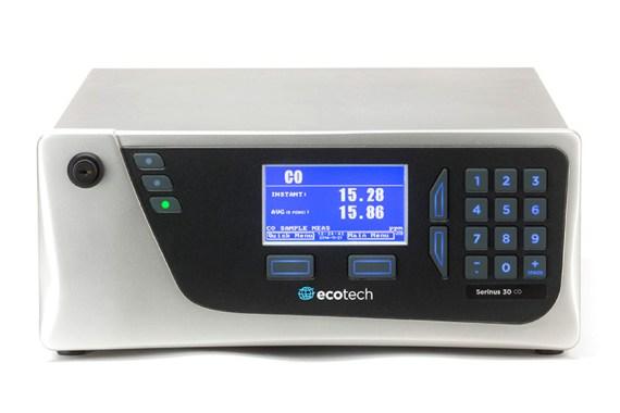 Eignungsgeprüfter CO Gasanalysator Serinus 30 Ecotech