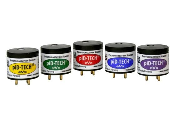 PID-TECH eVx Sensoren Photoionisationsdetektoren