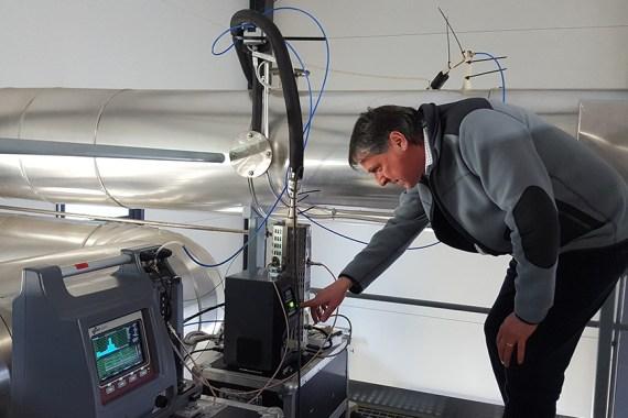 Biomasse Verbrennung Dekait ELPI Messysteme