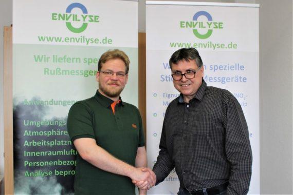 Oktober 2017 —  Ein neues Gesicht im ENVILYSE Team