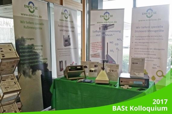 "März 2019 – Ankündigung: BASt Kolloquium ""Luftqualität an Straßen 2019"""