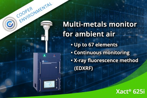 December 2019 – Continuous ambient multi-metals monitor Xact® 625i