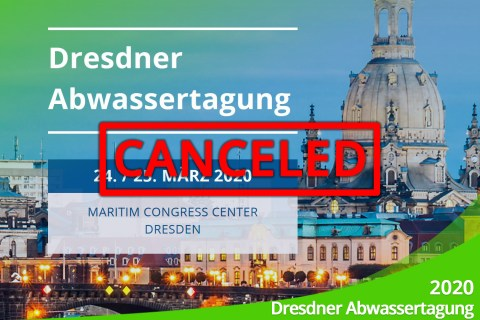 March 2020 – Announcement: Wastewater conference in Dresden