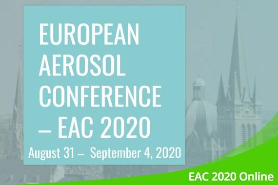 August 2020 – Ankündigung: European Aerosol Conference 2020 Online