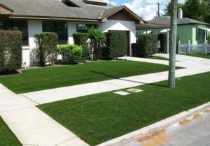 residential artificial grass lawns