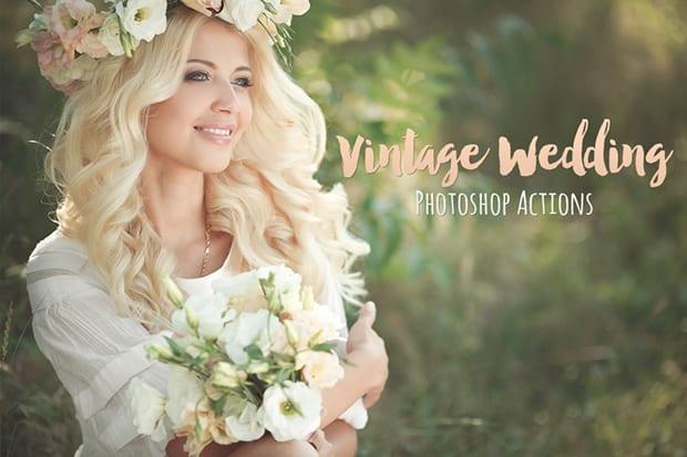 Action Photoshop Wedding Free 6