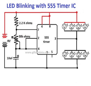 flop flop with timer ic 555