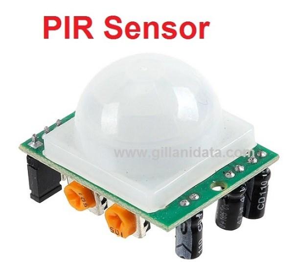 PIR Sensor switch circuit