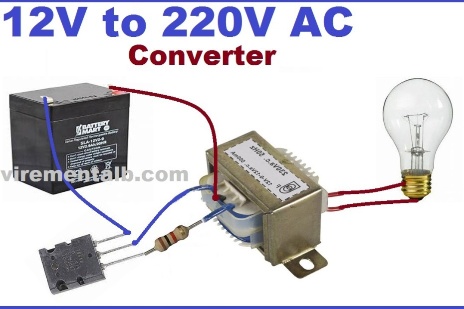 12v to 220v Ac inverter