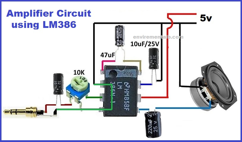 Amplifier Using LM386