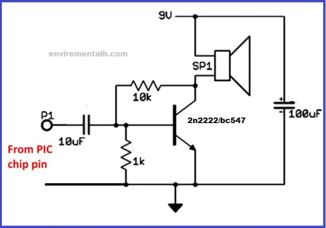 audio amplifier simple