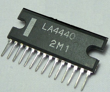 ic 4440 amplifier circuit