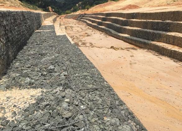 Nanka Landslide Erosion Gully
