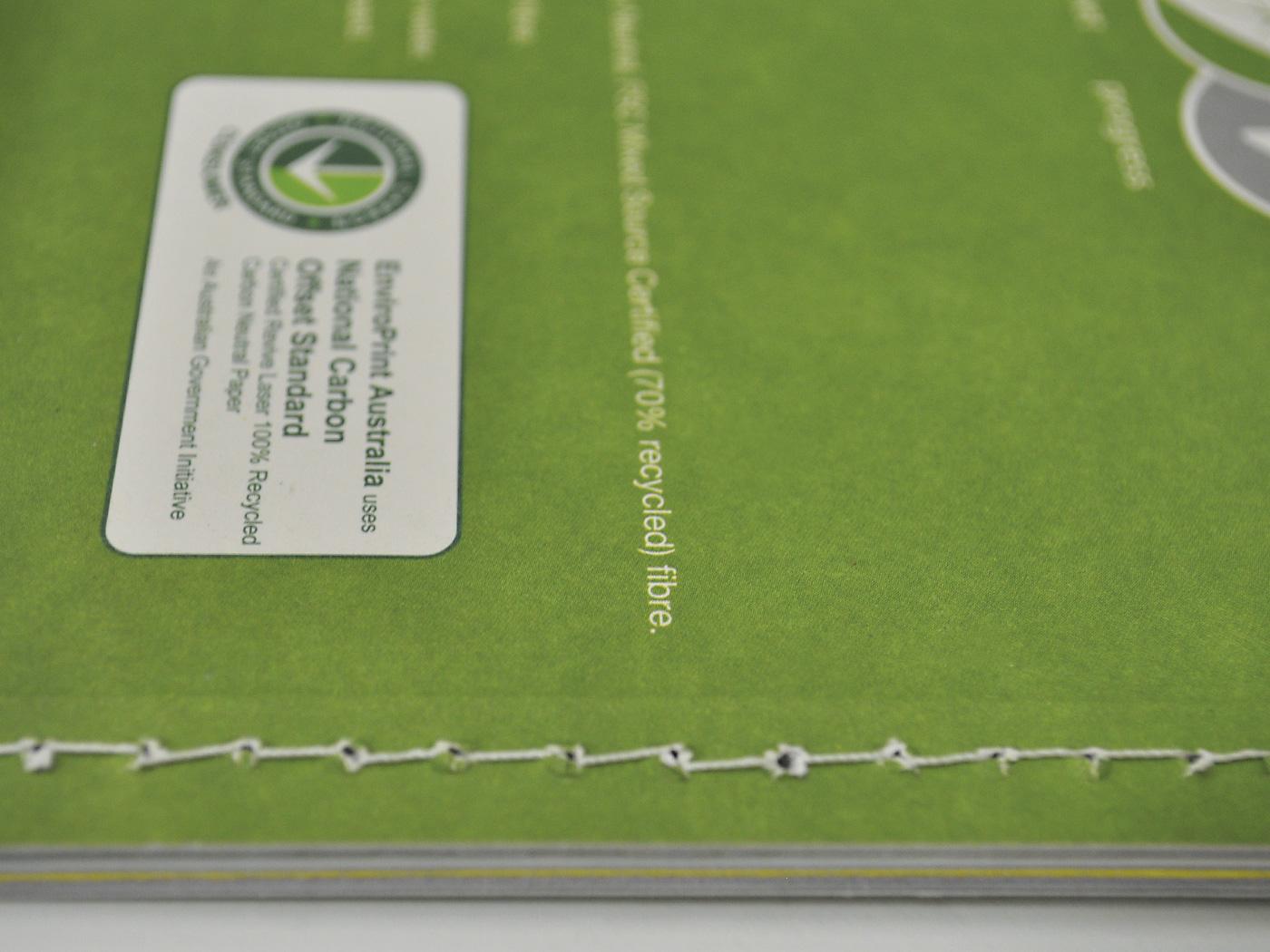 Top Stitch binding