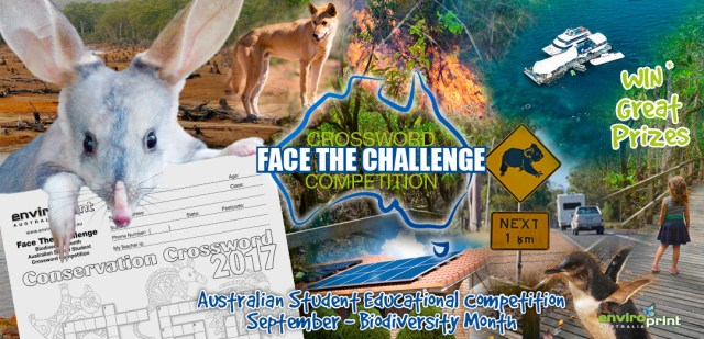 Face The Challenge Crossword Competition 2017